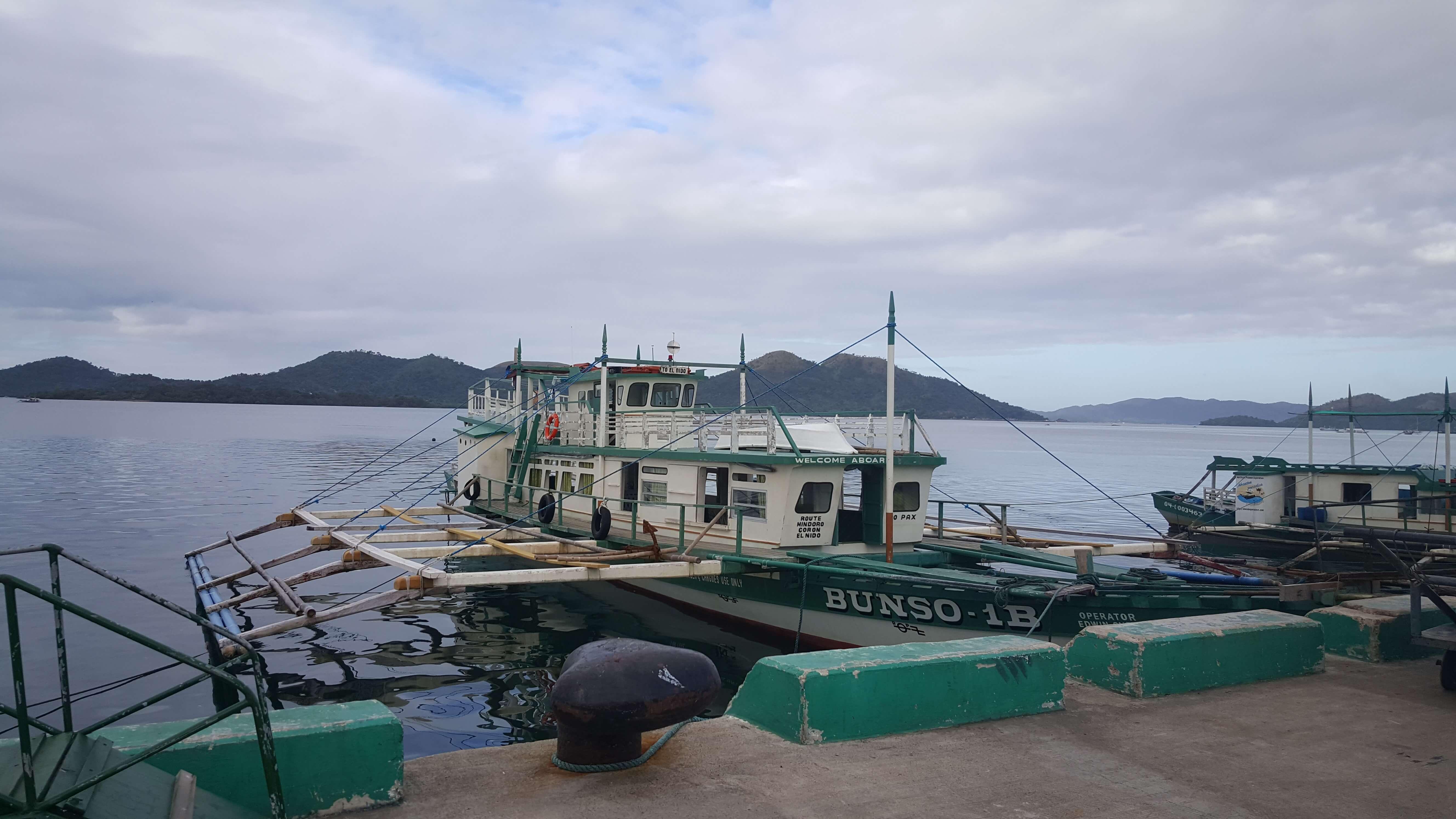 Barco de Corón a El Nido