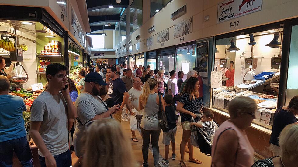 El mercado de abastos de Chiclana