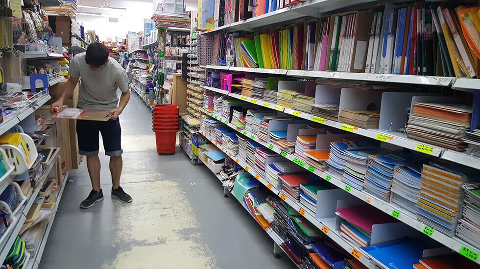 Comprando materiales para la web física