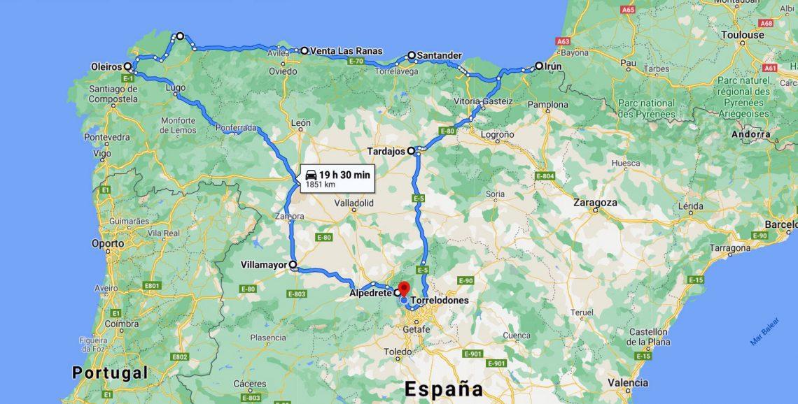 Ruta de workation por el norte de España